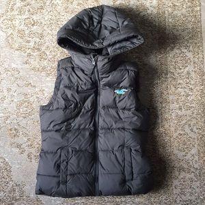 Hollister Puffer Vest (Gray)